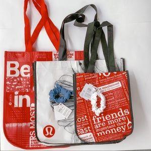 Lululemon Scrunchies & Tote Bags Bundle